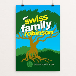 "The Swiss Family Robinson by Robert Wallman 12"" by 18"" Print / Unframed Print Recovering the Classics"