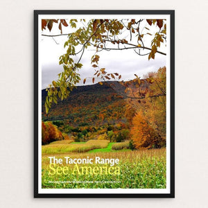 "The Taconic Range 1 by Bob Rubin 18"" by 24"" Print / Framed Print See America"