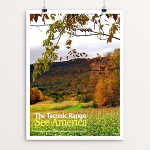 "The Taconic Range 1 by Bob Rubin 18"" by 24"" Print / Unframed Print See America"