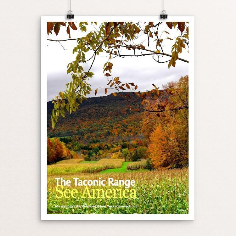 The Taconic Range 1 by Bob Rubin