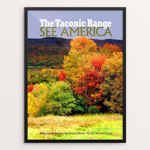 "The Taconic Range 2 by Bob Rubin 18"" by 24"" Print / Framed Print See America"