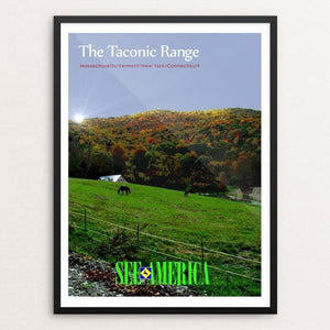 "The Taconic Range 5 by Bob Rubin 18"" by 24"" Print / Framed Print See America"