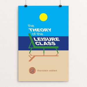 "The Theory of the Leisure Class by Robert Wallman 12"" by 18"" Print / Unframed Print Recovering the Classics"
