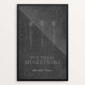 "The Three Musketeers by Elizabeth Firmage 12"" by 18"" Print / Framed Print Recovering the Classics"