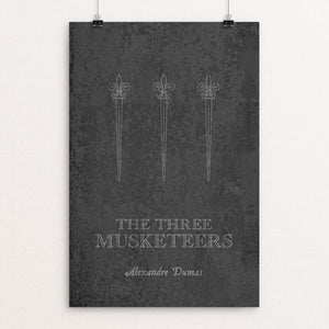 "The Three Musketeers by Elizabeth Firmage 12"" by 18"" Print / Unframed Print Recovering the Classics"