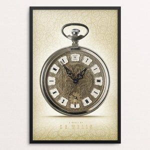 "The Time Machine by Jon Cain 12"" by 18"" Print / Framed Print Recovering the Classics"