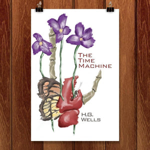 "The Time Machine by Julie Marquis 12"" by 18"" Print / Unframed Print Recovering the Classics"