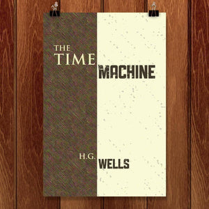 "The Time Machine by Lee Anne Dollison 12"" by 18"" Print / Unframed Print Recovering the Classics"