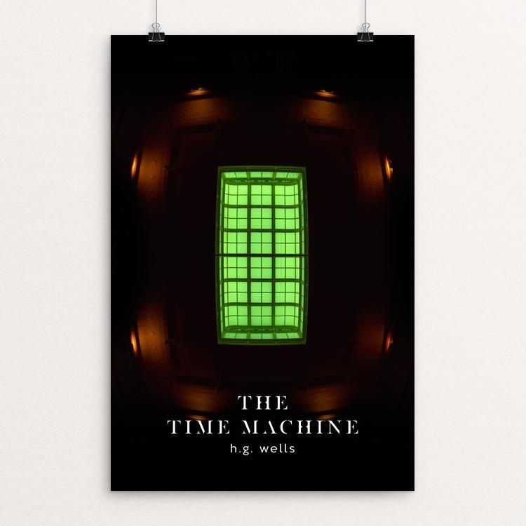 "The Time Machine by Nick Fairbank 12"" by 18"" Print / Unframed Print Recovering the Classics"