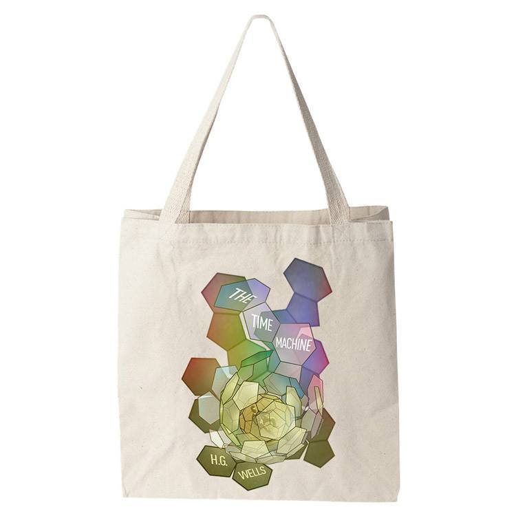 The Time Machine Tote Bag by Brixton Doyle Tote Bag Recovering the Classics