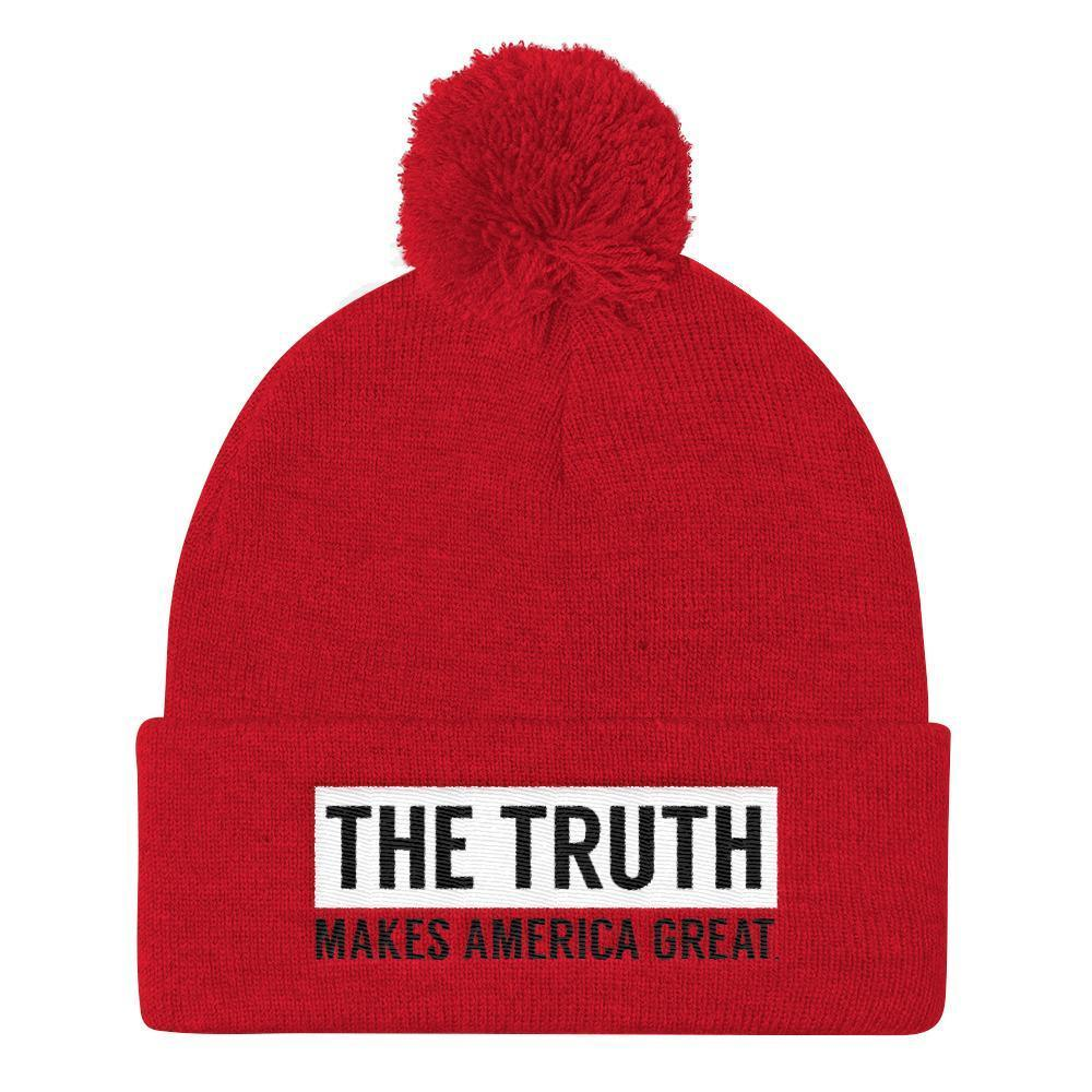 The Truth Beanie by Aimee Perrin Hat What Makes America Great