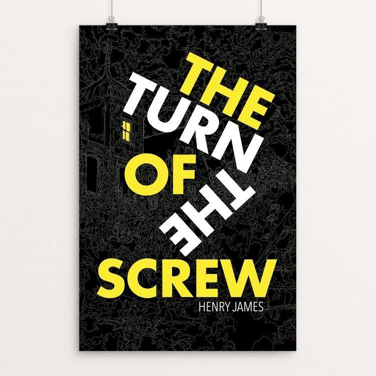 "The Turn of the Screw by Anthony Blake 12"" by 18"" Print / Unframed Print Recovering the Classics"
