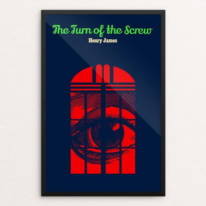"The Turn of the Screw by Bob Rubin 12"" by 18"" Print / Framed Print Recovering the Classics"