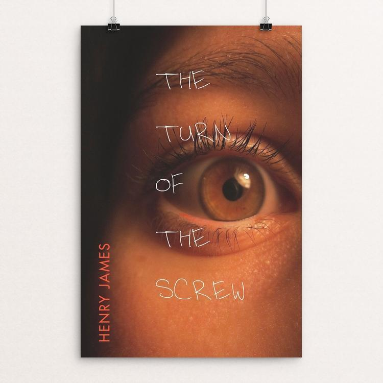 "The Turn of the Screw by Bob Rubin 12"" by 18"" Print / Unframed Print Recovering the Classics"