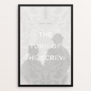 "The Turn of The Screw by Dave Hall 12"" by 18"" Print / Framed Print Recovering the Classics"