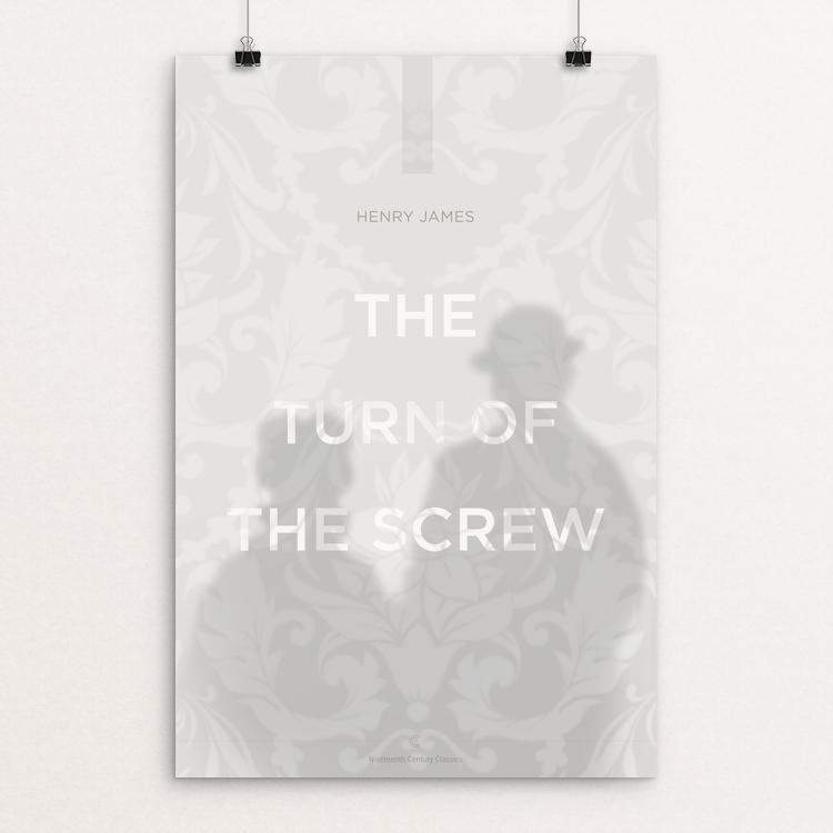 "The Turn of The Screw by Dave Hall 12"" by 18"" Print / Unframed Print Recovering the Classics"