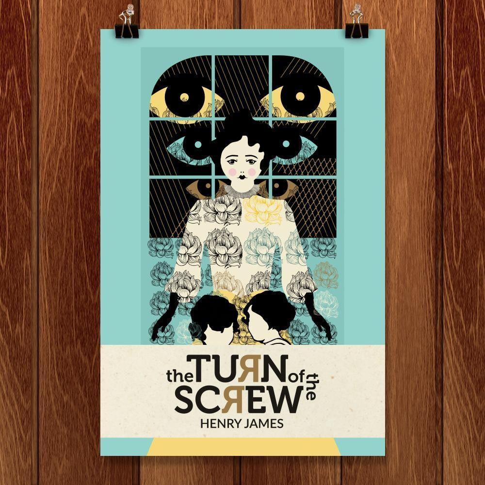 "The Turn of the Screw by Liza Donovan 12"" by 18"" Print / Unframed Print Recovering the Classics"
