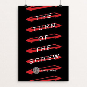 "The Turn of the Screw by Robert Wallman 12"" by 18"" Print / Unframed Print Recovering the Classics"