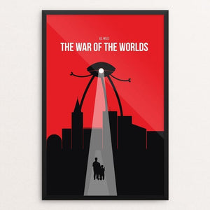 "The War of the Worlds by Kjell-Roger Ringstad 12"" by 18"" Print / Framed Print Recovering the Classics"