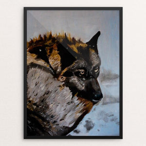 "The Wild One by Stephanie Bottorff 12"" by 16"" Print / Framed Print Join the Pack"