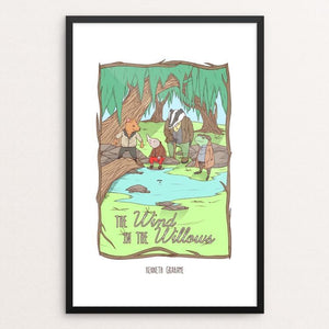 "The Wind in the Willows by Terrion Collins 12"" by 18"" Print / Framed Print Recovering the Classics"