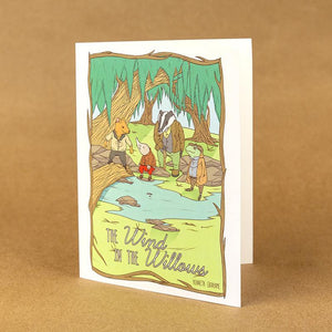 The Wind In The Willows Notecard by Terrion Collins