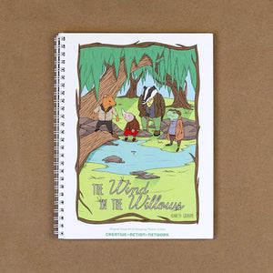 The Wind in the Willows Spiral Notebook by Terrion Collins