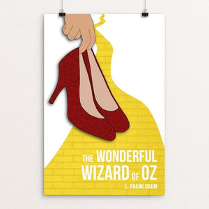 "The Wonderful Wizard of Oz by Abby Brown 12"" by 18"" Print / Unframed Print Recovering the Classics"