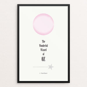 "The Wonderful Wizard of Oz by Alison Kelly 12"" by 18"" Print / Framed Print Recovering the Classics"