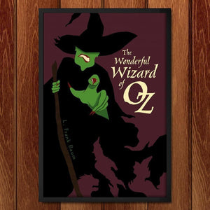 "The Wonderful Wizard of Oz by Brian Dahms 12"" by 18"" Print / Framed Print Recovering the Classics"