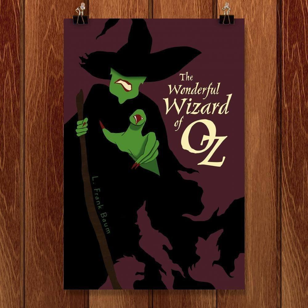 "The Wonderful Wizard of Oz by Brian Dahms 12"" by 18"" Print / Unframed Print Recovering the Classics"