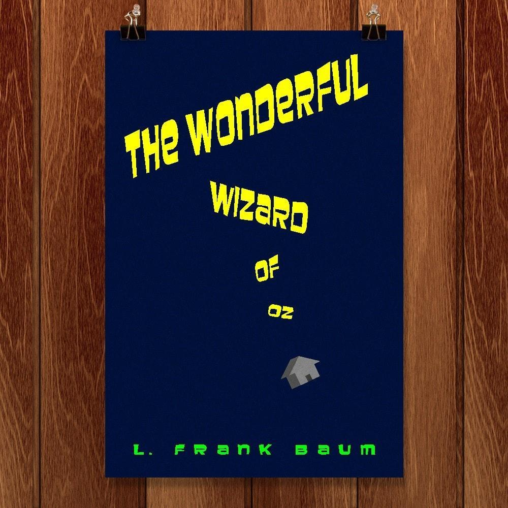 "The Wonderful Wizard of Oz by Jeff Shea 12"" by 18"" Print / Unframed Print Recovering the Classics"