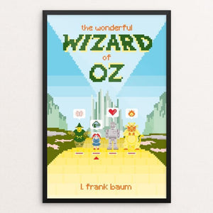"The Wonderful Wizard of Oz by Karl Orozco 12"" by 18"" Print / Framed Print Recovering the Classics"