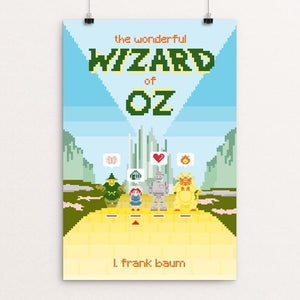 "The Wonderful Wizard of Oz by Karl Orozco 12"" by 18"" Print / Unframed Print Recovering the Classics"