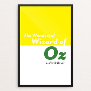 "The Wonderful Wizard of Oz by Michelle Martinez 12"" by 18"" Print / Framed Print Recovering the Classics"