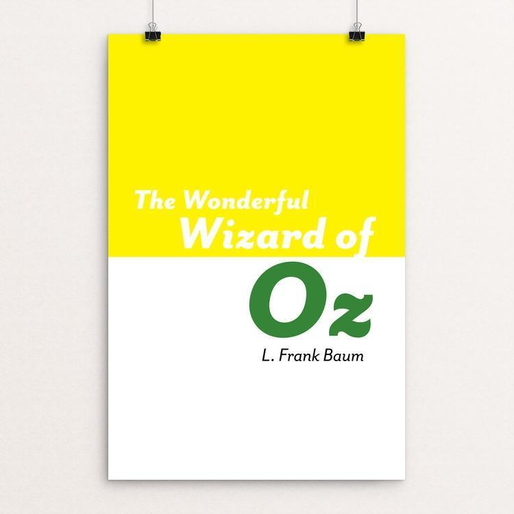 "The Wonderful Wizard of Oz by Michelle Martinez 12"" by 18"" Print / Unframed Print Recovering the Classics"