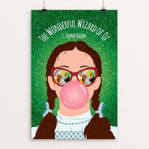 "The Wonderful Wizard of Oz by Mykel Vanek 12"" by 18"" Print / Unframed Print Recovering the Classics"