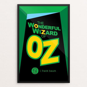 "The Wonderful Wizard of Oz by Robert Wallman 12"" by 18"" Print / Framed Print Recovering the Classics"