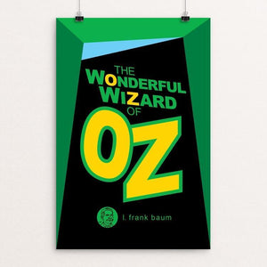 "The Wonderful Wizard of Oz by Robert Wallman 12"" by 18"" Print / Unframed Print Recovering the Classics"