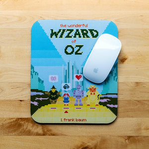 The Wonderful Wizard of Oz Mousepad by Karl Orozco 7.79x9.25 inch Mousepad Recovering the Classics