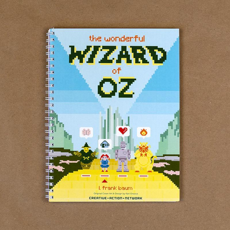 The Wonderful Wizard of Oz Spiral Notebook by Karl Orozco