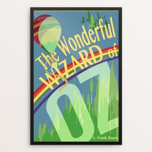 "The Wonderful World of Oz by Don Dauphinee 12"" by 18"" Print / Framed Print Recovering the Classics"