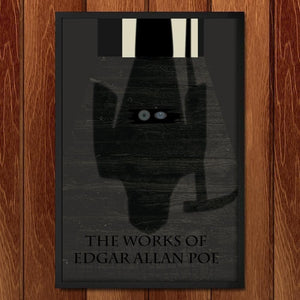 "The Works of Edgar Allan Poe 2 by Nichole Diaz 12"" by 18"" Print / Framed Print Recovering the Classics"