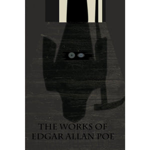 "The Works of Edgar Allan Poe 2 by Nichole Diaz 12"" by 18"" Print / Unframed Print Recovering the Classics"