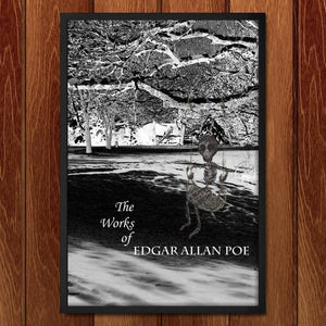 "The Works of Edgar Allan Poe 3 by Nichole Diaz 12"" by 18"" Print / Framed Print Recovering the Classics"