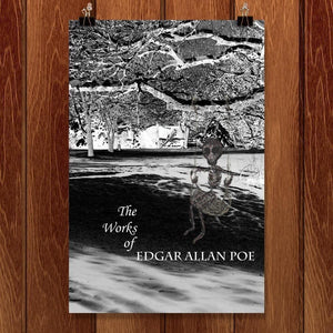 "The Works of Edgar Allan Poe 3 by Nichole Diaz 12"" by 18"" Print / Unframed Print Recovering the Classics"