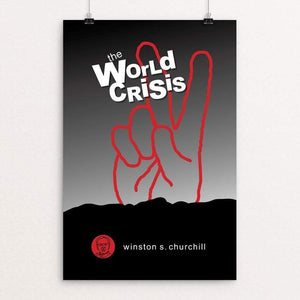"The World Crisis by Robert Wallman 12"" by 18"" Print / Unframed Print Recovering the Classics"