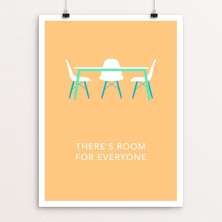 "There's Room for Everyone by Blair Strong 12"" by 16"" Print / Unframed Print Creative Action Network"