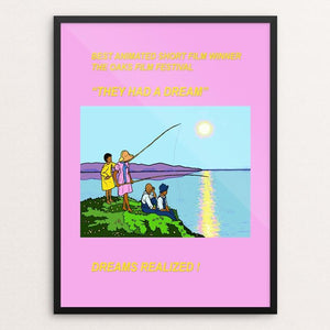 """THEY HAD A DREAM"" by Walter Griggs 18"" by 24"" Print / Framed Print Creative Action Network"