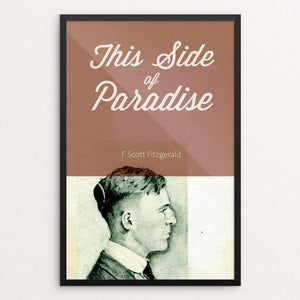 "This Side of Paradise by Eben Haines 12"" by 18"" Print / Framed Print Recovering the Classics"